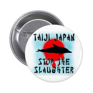 Taiji Slaughter 6 Cm Round Badge