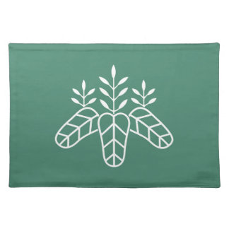 Taiko paulownia cloth place mat