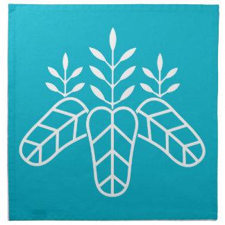 Taiko paulownia printed napkin