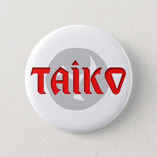 Taiko Symbol Design 6 Cm Round Badge