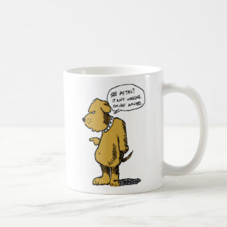 Tail Ain't Wagging Coffee Mug