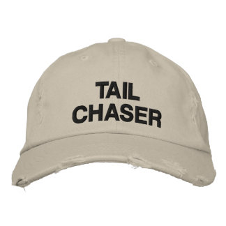 TAIL CHASER DEER HUNTING EMBROIDERED HAT