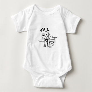 Tail Dragger Baby Bodysuit