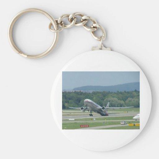 Tail Dragger Bad Landing Key Chains