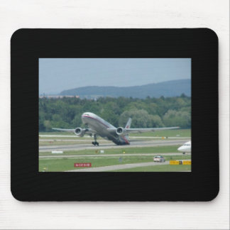 Tail Dragger Bad Landing Mouse Pad