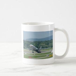 Tail Dragger Bad Landing Classic White Coffee Mug