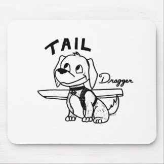 Tail Dragger Mouse Pad