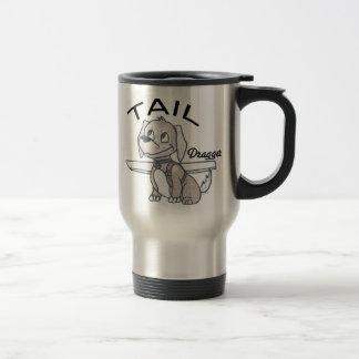 Tail Dragger 15 Oz Stainless Steel Travel Mug