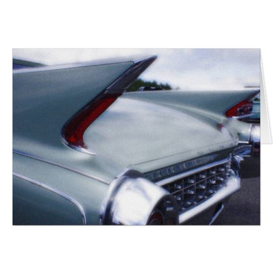 Tail Fins note card