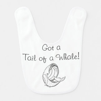 Tail of a Whale Bib