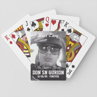 Tailgate Essential: RIP DON GURION PLAYING CARDS