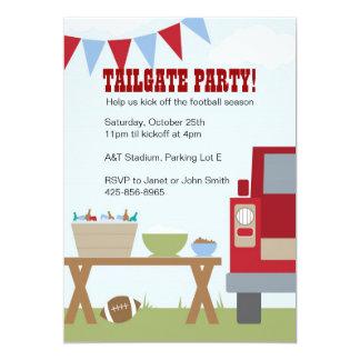 Tailgate Football Party Invitation