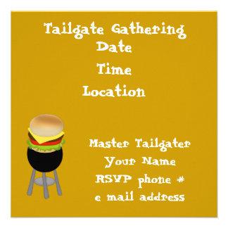 Tailgate Invitation