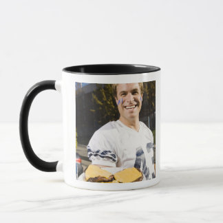 tailgate party before a football game 2 mug