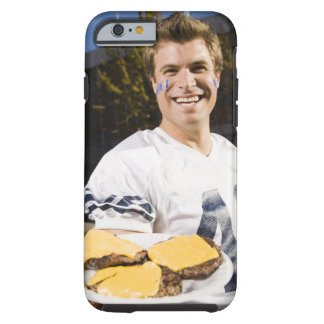 tailgate party before a football game 2 tough iPhone 6 case
