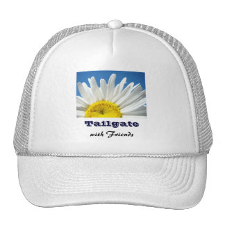 Tailgate with Friends truckers hats Daisy Flower