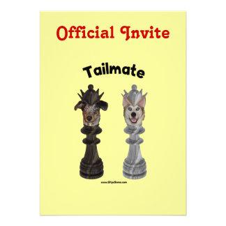 Tailmate Chess Queen Dogs Invite