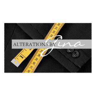 Tailor Alterations Tailoring Seamstress Cleaners Pack Of Standard Business Cards