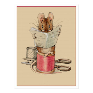Tailor Mouse by Beatrix Potter Postcard