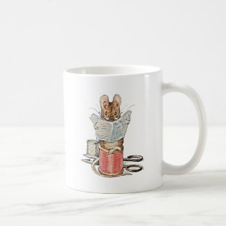 Tailor Mouse on Spool of Thread Coffee Mug