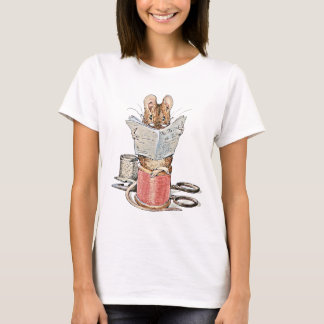 Tailor Mouse on Spool of Thread T-Shirt