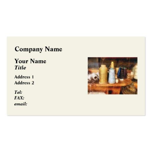 Tailor's Thread Business Card
