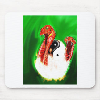 Tails of 2 Serpents Mouse Pad