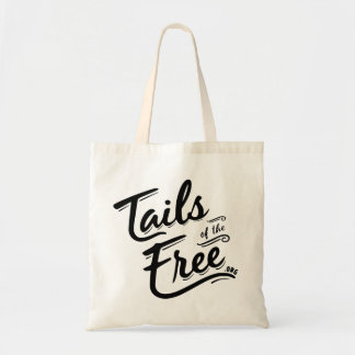 Tails of the Free budget tote! Tote Bag