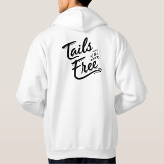 Tails of the Free white hoodie