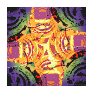 Taino Codo Litico II Canvas Print