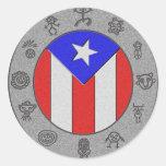 Taino Wheel Sticker