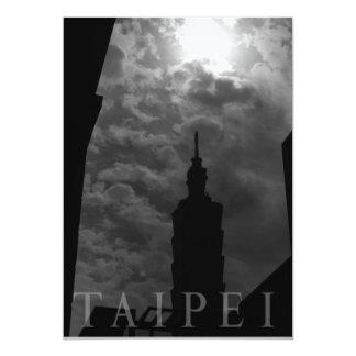 Taipei 101 Building, Taipei, Taiwan 13 Cm X 18 Cm Invitation Card