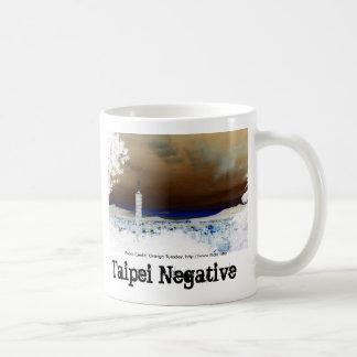 Taipei Negative - Orange Tuesday, Taipei Negati... Basic White Mug