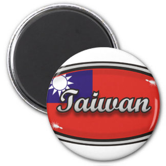 Taiwan 6 Cm Round Magnet