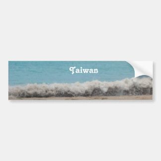 Taiwan Beach Bumper Stickers