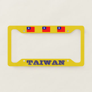 Taiwan Classic License Plate Frame