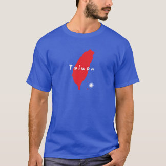 Taiwan Country Silhouette T-Shirt