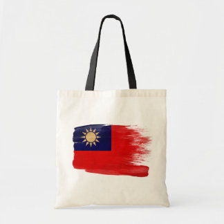 Taiwan Flag Canvas Bags
