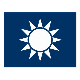 "Taiwan Flag ""Classic"" Postcard"