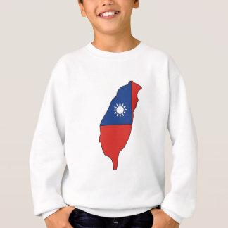 Taiwan Flag Map full size Sweatshirt