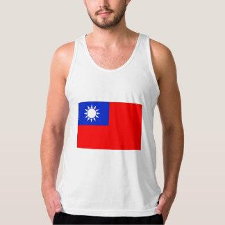 Taiwan Flag Tank Top
