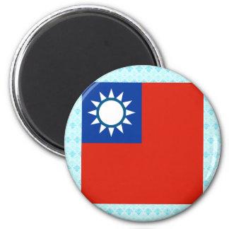 Taiwan High quality Flag 6 Cm Round Magnet