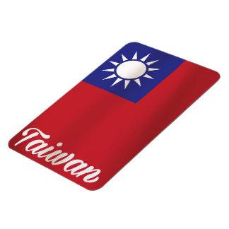 Taiwan National Flag Travel poster Rectangular Photo Magnet