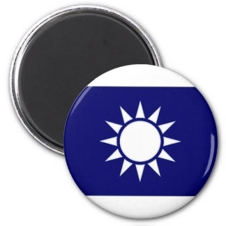 Taiwan Naval Jack 6 Cm Round Magnet