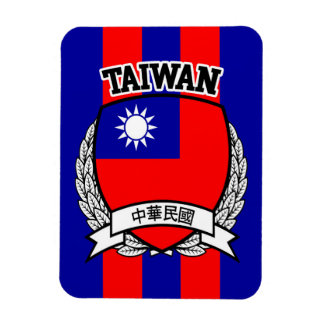 Taiwan Rectangular Photo Magnet