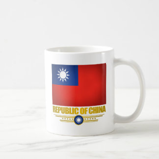 Taiwan (Republic of China) Flag Coffee Mugs