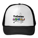 Taiwan  Rocks Mesh Hat