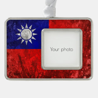 Taiwan Silver Plated Framed Ornament