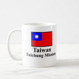 Taiwan Taichung Mission Drinkware Basic White Mug