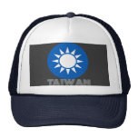 Taiwanese Emblem Trucker Hats